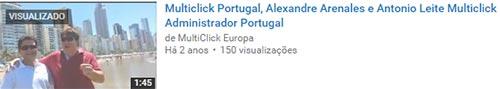 Alexandre Arenales nos tempos da fraude Multclick