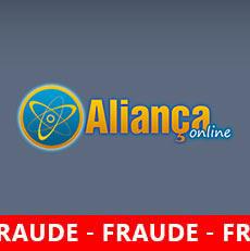 Alerta Aliança Online Fraude