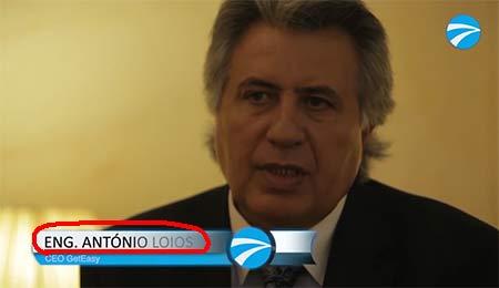 António Loios, o dono da fraude VIC e da empresa de fachada TACHOEASY MIDDLE EAST FCZ