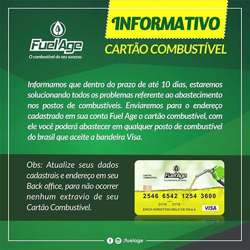 Cartão Combustível, o disfarce da fraude Fuel Age