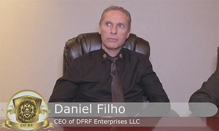 Daniel Filho, o dono da DFRF Enterpises, o golpe que promete até 15% ao mês e incentiva o recrutamento