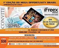 Evento golpe iFreex realizado no Brasil