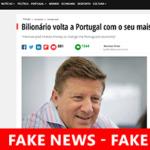 Burlões usam Anúncios Facebook com Fake News + Bitcoin + Famosos Portugueses