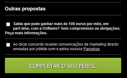 Objetivo do site jobtide.com