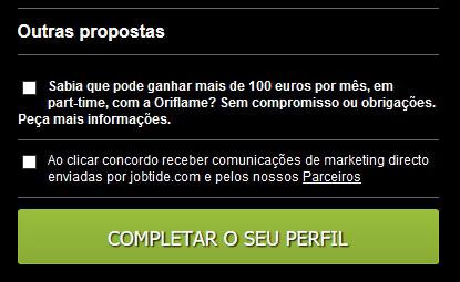 Objetivo do site jobtide.com