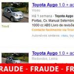 Anúncios FALSOS de Carros Usados no Trovit, OLX, etc