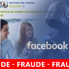 Fraude empréstimos facebook