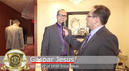Gaspar Jesus, cúmplice no esquema DFRF. (Fonte: youtube.com)