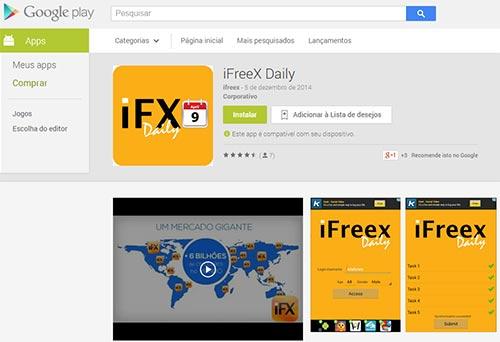 iFreex publicou no Google Play uma app que faz a tarefa diária em alguns segundos.