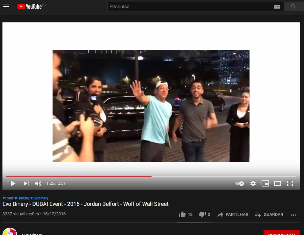 Jordan Belfort e Ramon Alcantara no Dubai