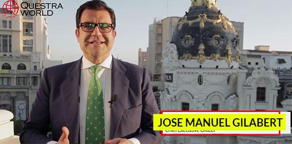 José Manuel Gilabert, presidente da fraude Questra World.