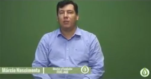 Márcio Nascimento, suposto dono da fraude Fuel Age
