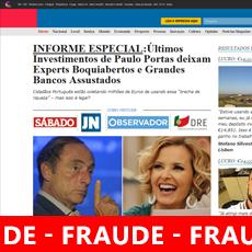 Paulo Portas vítima fraude Fake News Bitcoin