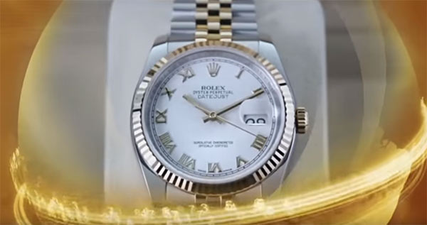 Rolex no plano de compensação da fraude Trade Coin Club