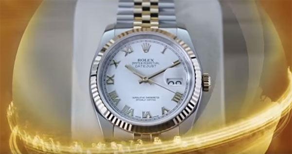 Rolex no plano de compensação da fraude Trade Coin Club