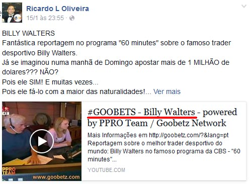 Ex-participante na fraude Geteasy usa a sua experiência de aldrabar para enganar novas vítimas no golpe GooBets