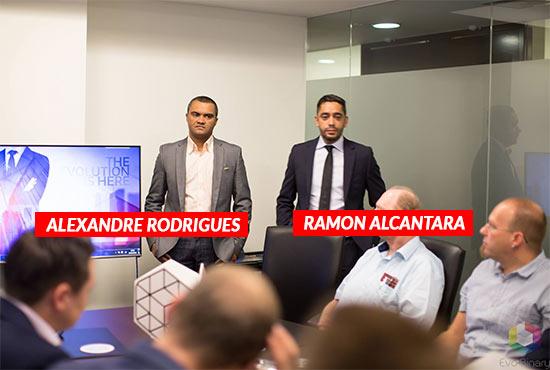 Ramon Alcantara e Alexandre Rodrigues da fraude Evo Binary