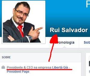 Rui Salvador, o presidente da LibertaGia