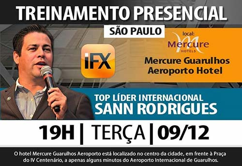 Sann Rodrigues está muito ativo a fazer apresentações e treinos para líderes em vários países. Portugal e Brasil são os principais!