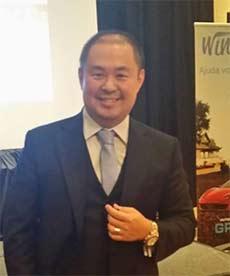 Sergio Tanaka, um dos donos da Wings Network