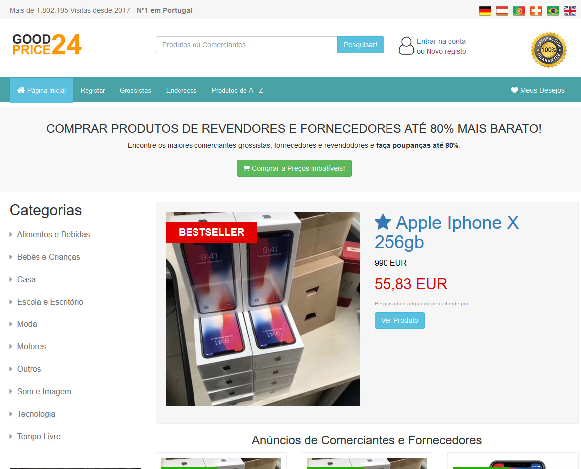 Site fraude goodprice24.de