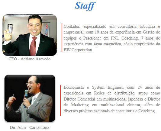 Texto bonito de apresentação na página http://bwcorporation.com.br/empresa.asp, continua a ser praticamente o mesmo. Passou vários anos e número de anos continua igual.