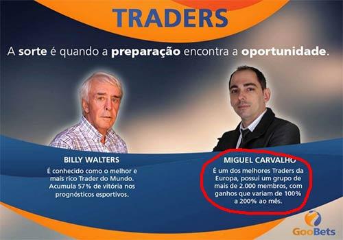 Segunda versão dos Traders de Sucesso usa Billy Walters junto ao criador do golpe