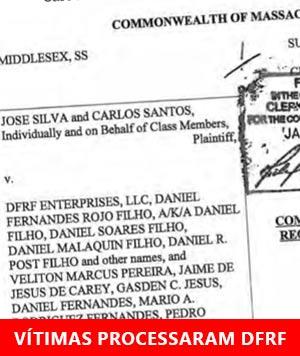 Vítimas nos EUA processam DFRF